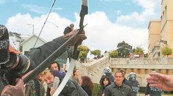 Συνελήφθη ο τοξοβόλος του Συντάγματος και η συνεργός της Ρούπα