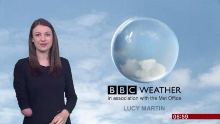 Πρωτοποριακό το BBC - Εχει την πρώτη μετεωρολόγο με αναπηρία