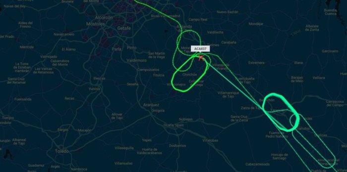 Θρίλερ στον αέρα με Μπόινγκ 767 πάνω από τη Μαδρίτη [video] - εικόνα 2