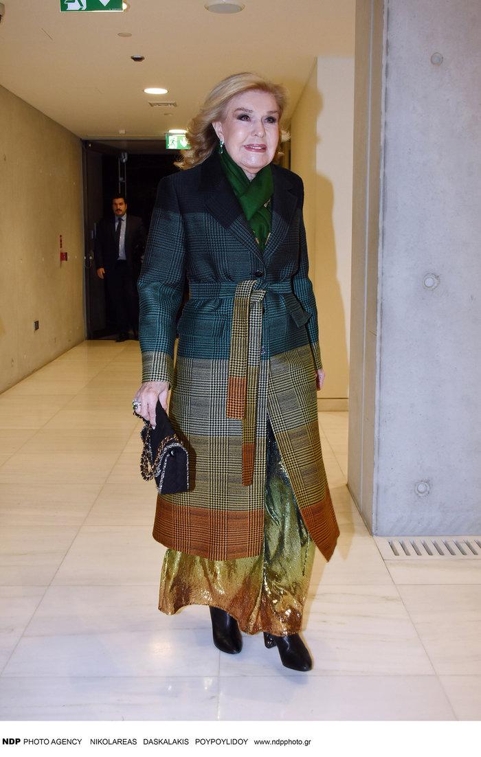 Αλεξία Βαρδινογιάννη: Σικ εμφάνιση με σακάκι της Μαριάννας Γουλανδρή