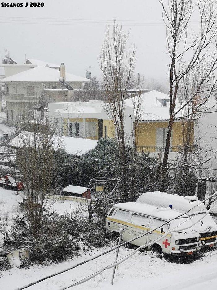 Στα λευκά η Κρήτη - Κλειστά σχολεία και παγετός