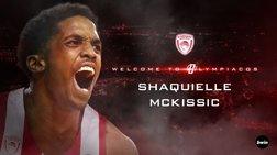 Παίκτης του Ολυμπιακού ο Σακίλ ΜακΚίσικ - Ανακοινώθηκε επίσημα