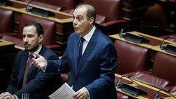 Παραλήρημα Βελόπουλου στη Βουλή για χούντα και ορυκτό πλούτο