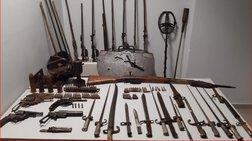 Κιλκίς: Βρήκαν οπλοστάσιο...μουσειακού επιπέδου - Μια σύλληψη