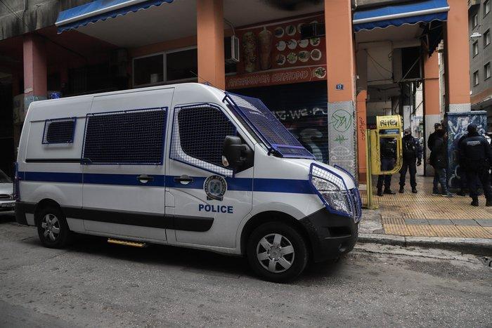 Καρέ καρέ η νέα επιχείρηση της ΕΛ.ΑΣ. στην οδό Μενάνδρου - εικόνα 5