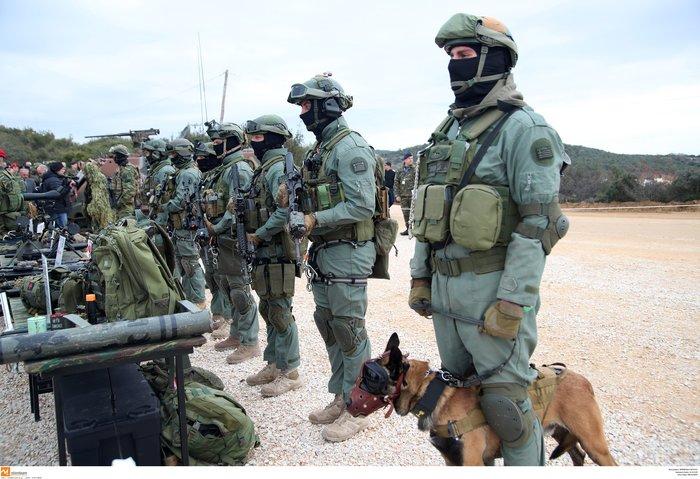 Στρατιωτική άσκηση σαν πόλεμος με καταδρομείς από επτά χώρες - εικόνα 9
