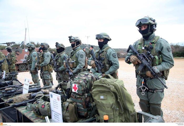 Στρατιωτική άσκηση σαν πόλεμος με καταδρομείς από επτά χώρες - εικόνα 10