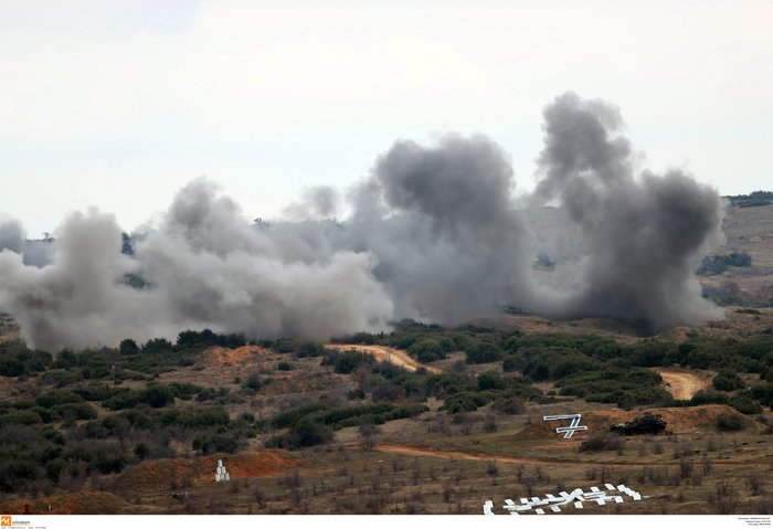 Στρατιωτική άσκηση σαν πόλεμος με καταδρομείς από επτά χώρες - εικόνα 16
