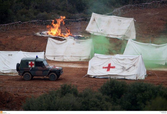 Στρατιωτική άσκηση σαν πόλεμος με καταδρομείς από επτά χώρες - εικόνα 4