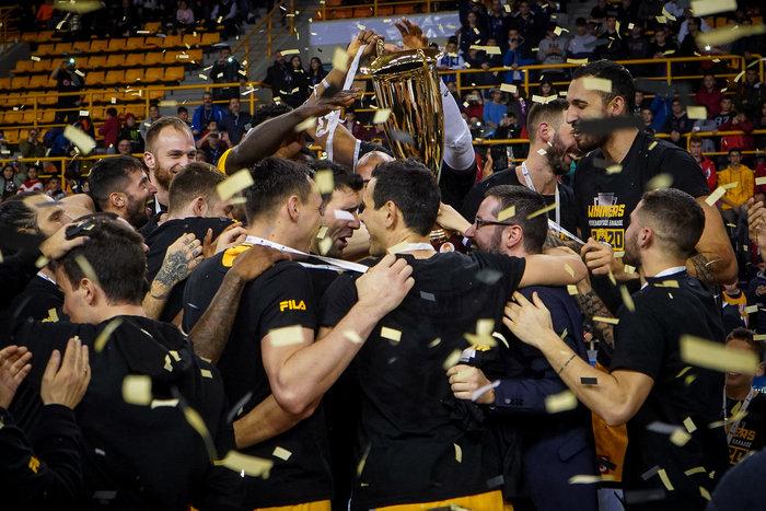 Πέμπτη φορά κυπελλούχος Ελλάδος στο μπάσκετ η ΑΕΚ