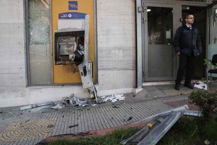 Άγιος Δημήτριος: Εκρηξη σε ΑΤΜ - Χωρίς χρήματα έφυγαν οι δράστες