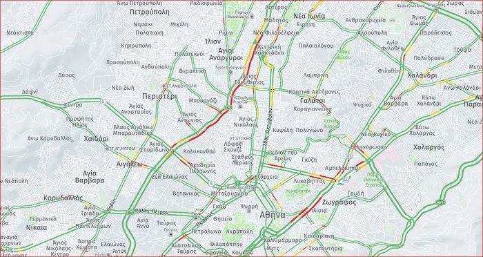 Ολοκληρώθηκαν οι πορείες- Έντονα κυκλοφοριακά προβλήματα