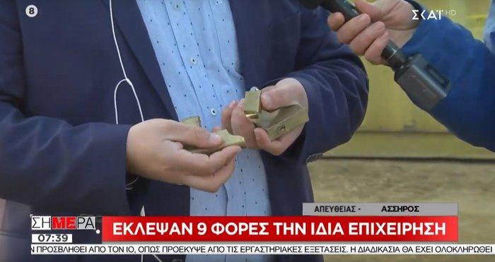 Απίστευτο: Έκλεψαν 9 φορές την ίδια επιχείρηση στη Θεσσαλονίκη