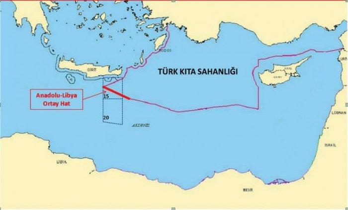 Τουρκικός Τύπος: Έτοιμο για την Κρήτη το Ορούτς Ρέις [χάρτης]
