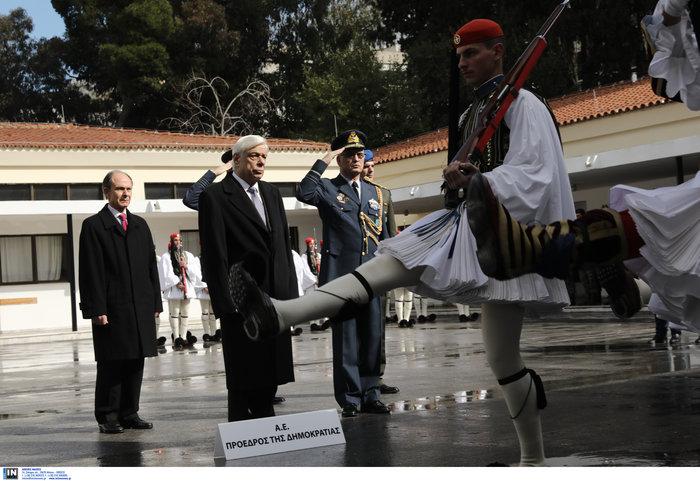Οι Εύζωνοι της Προεδρικής Φρουράς δεν ξέχασαν τον Θωμά Σπυρίδωνος